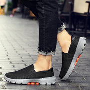Men Portable Slip On Low Top Light Walking Casual Shoes