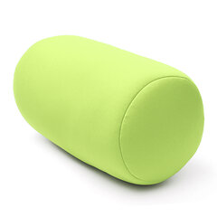 30x16cm Mini Microbead Roll Pillow Soft Column Travel Pillow Neck Nap Back Cushion