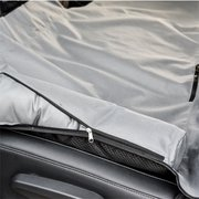 ماء الحيوانات الأليفة المقعد الخلفي السفر حصيرة سرير السيارة الخلفي حامي غطاء مقعد