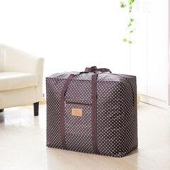 Espesar Bolsa de tejido grande Bolsa de almacenamiento de tela Oxford Almacenamiento Bolsa de equipaje Ropa Viajar Desplazamiento Clasificación