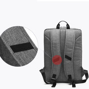 17 Pollici Canvas Laptop impermeabile Borsa Travel Business Backpack per uomo donna