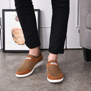 Men Light Weight Breathable Soft Walking Shoes Slip On Casual Shoes