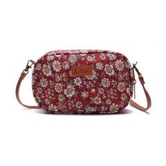 Mini sac porté travers en tissu à imprimé porte-téléphone de loisirs pour femme