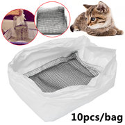 10pcs reutilizables Cat Litter Mesh Liners