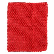 Children Girls Crochet Elastic Waistband Head Hairband DIY Fluffy Skirt Wrap Chest