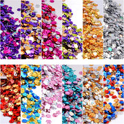 Mixed Colorful Nail Glitter Sequins Decals Hexagonal Shiny Flakes 3D Nails Art Decoration
