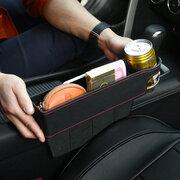 Organizer portaoggetti auto in cuoio