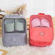 Женщины Nylon Travel Портативные водонепроницаемые туфли Tote Pouch Многофункциональные косметические сумки для хранения