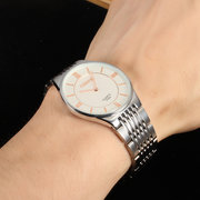 CHENXI Couple Watch Simple Stainless Steel Watch