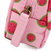 Portafoglio creativo della tela della borsa dei sacchetti della moneta del fumetto adorabile della frutta delle donne