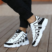 Men Wear Resistant Shock Absorption Basketball Shoes Sport Casual Sneakers