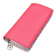 Women Cute Candy Color Long Wallet