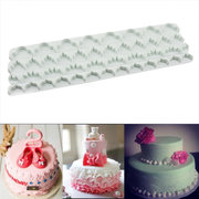 4pcs Skirt Lace Pressure Strip Mold Sugar Embossed Printing Edge Mold Bakery Cake Mold