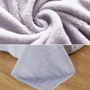 Winter Soft Flannel Bedding Set Quilt Cover Bed Sheet Pillowcase Twim Full Queen Size