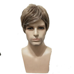 Synthetic Wigs European American New Fashion Men's Wigs Short Straight Heat Resistant Hair Wigs