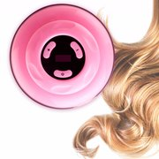 Pink Cylinder Electric Hair Curler Wavy Roller Semi-automatic Curling Heating Styling Machine