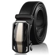 Homens De Luxo De Couro Cinto De Fivela Automática Ajustável Vogue Cintura Cinta Cintos