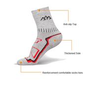 На открытом воздухе Спорт Восхождение Толстый Носки Дышащий Быстросохнущий Велоспорт Бег Носки Для мужчин