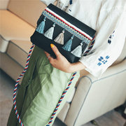 Bohemian PU Leather Tassel Crossbody Bags Shoulder Bags For Women