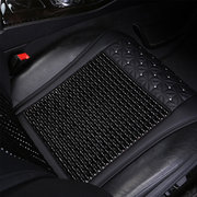 Luxury Leather Car Seat Cover With Head Cover