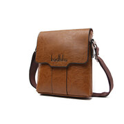 PU Business Casual Sshoulder Crossbody Bags For Men