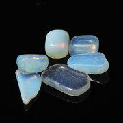6Pcs unregelmäßige natürliche Dekoration-Opal-Steinschmucksachen DIY Fertigkeit