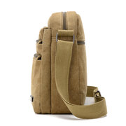 Men Canvas Outdoor Crossbody Bags Leisure Multi-Function Shoulder Bags