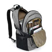 17 Inch Mochila Nylon Anti-Theft saco de Laptop Com Carregador USB Casual negócio Mochila Para Homens Mulheres