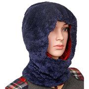 النساء الرجال الأزواج متعددة الاستخدام بالاكلافا قناع الوجه الشتاء حك وشاح skullies بيني قبعة عنق مسخن