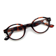 Women Men Retro Reading Glasses Fashion Wear-resistant Computer Circular Presbyopic Glasses