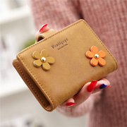 Women Flower Pattern 20 Card Slots Card Holder