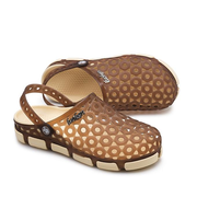 Men Hollow Out  Breathable Cool Beach Sandals Flat Slip On Casual Shoes