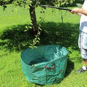 Sacchetto di giardinaggio riutilizzabile portatile della borsa di giardinaggio delle lardoni della borsa dell'iarda dei sacchetti da 63 galloni