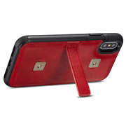 Multi-sltots PU Leather iPhone X/7/7 plus / 8/8 plus Portafoglio porta carte per telefono