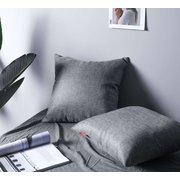 الصلبة اللون وسادة وسادة غطاء أريكة القطن باكريست مكتب سيارة المخدة المنزل ديكو