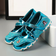 Girls Lace Butterfly Breathable Suspension Soled Princess Sandals