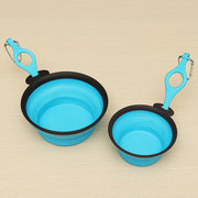Foldable & Portable Pet Dog Travel Food Water Bowl
