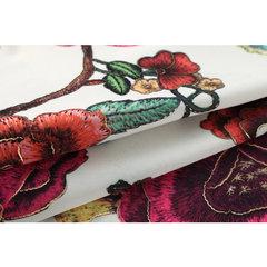 Mens Plus Tamanho Verão Solto Havaiano Camisa Rose Impressão Algodão de Manga Curta Praia Camisas
