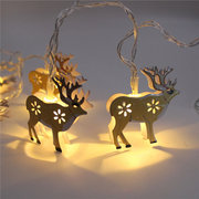 KCASA KT-9 Halloween Decorative  Elk Coloured Drawing  Lights  10 Lights