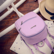 Candy Color School Bag Small Backpack Shoulder Bags For Girls