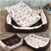 Soft Sofa Kennel Dogs Cats House For Large Dogs Padded Dog Bed Waterproof Washable Pet House Mat