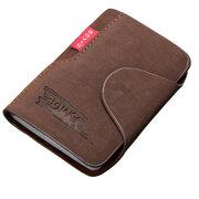 Titolari di carta portatili in pelle PU con 20 slot per schede vintage