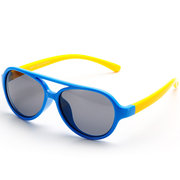 Kids Vintage Goggles Anti-UV Sunglasses Outdoor Sports Flexible Fashion Polarized Eyewear