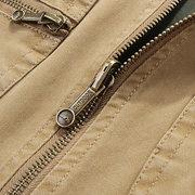 Mutil جيوب وظيفية مزدوجة لبس سترة الصيد في الهواء الطلق عارضة للرجال