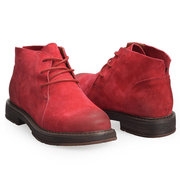 SOCOFY Suede Splicing Leather Pizzo Scarpe Casual Scarpe