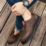 Scarpe casual da uomo indossabili in vera pelle di mucca da uomo