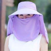 النساء طوي حماية الوجه تنفس الصلبة قبعة الشمس الصيف السفر في الهواء الطلق شاطئ البحر كاب
