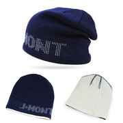 Men Women Knitted Thicken Warm Beanie Caps Letter Double Layer Cover Head Ski Slouchy Hat