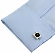 Mens Vintage Exquisite Cufflink Shirt Metal Carte CD Headse Cufflinks For Wedding Bussiness Gift