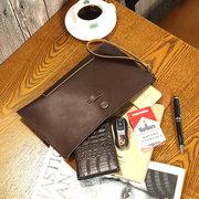 PU Retro Clutch Bags Casual Envelope Bags For Men